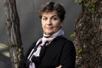 Former UN executive secretary for climate change, Christiana Figueres.
