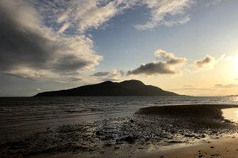 Holy Isle, Isle of Arran, Scotland.