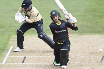Australia's Josh Philippe made a quick-fire 45.