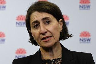 NSW Premier Gladys Berejiklian has urged people to use the GP network to receive their AstraZeneca COVID-19 vaccine.