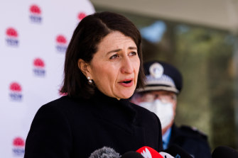 NSW Premier Gladys Berejiklian said the bulk of the spread had occurred in south-west Sydney. However, there was seeding in other areas of the city.