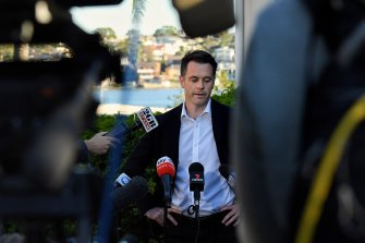 Leadership is in sight once more for Labor's Chris Minns.
