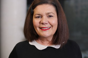 Lisa Panozza, English teacher.