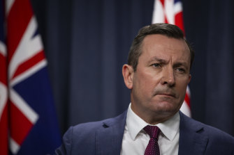 WA Premier Mark McGowan has locked down Perth and Peel.