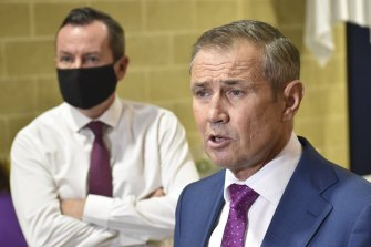 WA Premier Mark McGowan and Health Minister Roger Cook are opening the chequebook for hospitals again, but it will not be a quick fix.