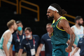 Man of the moment: Patty Mills.