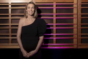 """Grace Brennan at the Sydney Conservatorium of Music on Tuesday. """"When you live in the bush and something goes wrong, you fix it yourself,"""" she says."""