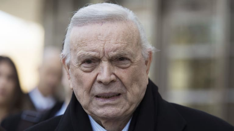 Sentenced: Former Brazil football chief Jose Maria Marin has been sent to prison on corruption charges.
