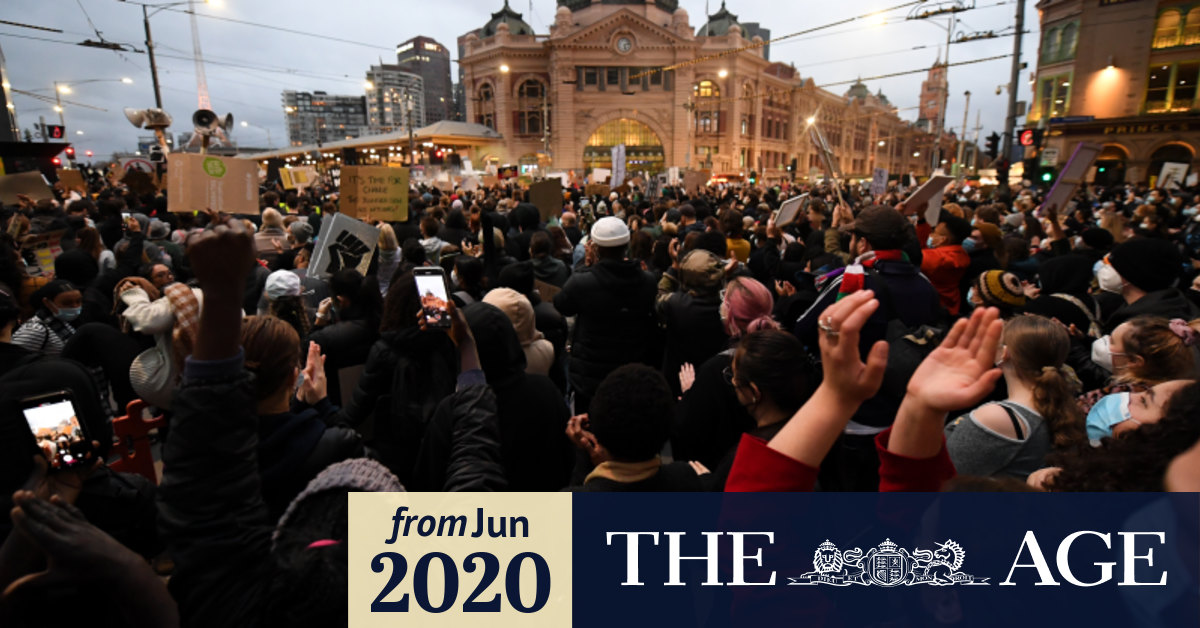 Coronavirus Australia May Be Impossible To Trace Contacts Of Black Lives Matter Protest Attendee In Melbourne Who Contracted Covid 19