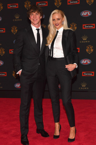 Rewriting the rules ... Liam Picken and Annie Nolan in 2016.