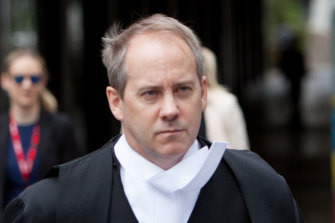 Saul Holt QC, who will be representing Victoria Police at the Royal Commission