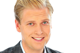 Not wearing spectacles: Mark Humphries.