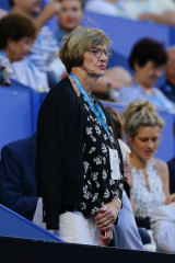 Margaret Court has asked for the same level of celebration as was afforded to Rod Laver.