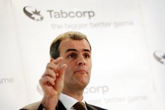 Former Tabcorp CEO Elmer Funke Kupper.