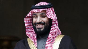 Saudi Arabia Crown Prince Mohammed bin Salman.