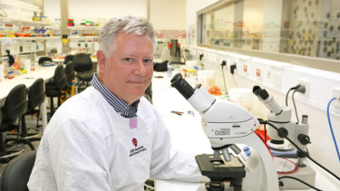 Professor Mark Smyth heads the team at QIMR Berghofer looking into a new immunotherapy treatment for cancers.