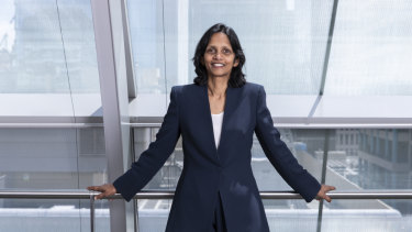 Macquarie chief executive Shemara Wikramanayake is one of a small number of women heading up an ASX200 company.