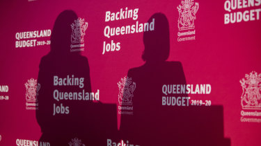 The sun sets on our budget blog: Premier Annastacia Palaszczuk and Treasurer Jackie Trad.