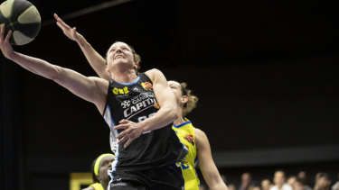 Canberra's Kelsey Griffin will almost certainly win the WNBL MVP this season.