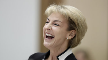 Minister for Small and Family Business, Skills and Vocational Education Michaelia Cash during a Senate estimates hearing.