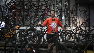 John Ross from the Lonsdale Street Cyclery