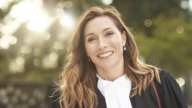 Claudia Karvan in the 2018 ABC drama, Newton's Law.
