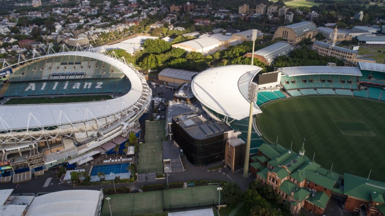 Demolition: Allianz Stadium will be knocked down and a new stadium built in its place.