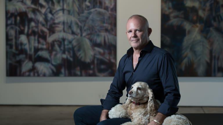 Paddington art dealer Martin Browne.
