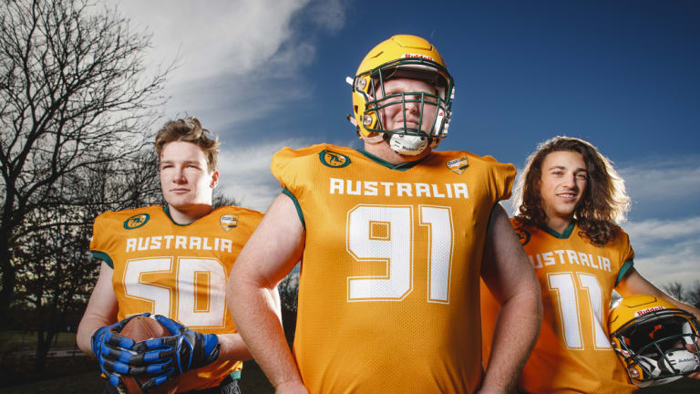 Teammates Kieran Reilly, Isaac Helsop and James Micallef are set for the world stage.