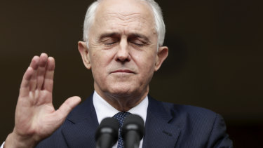 Voters expected Malcolm Turnbull to solve problems. He didn't.