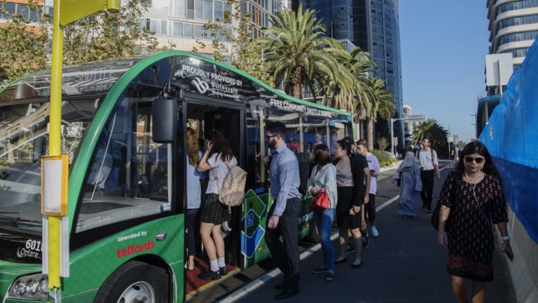 The buses, which attract long queues of residents, may not be around for much longer.