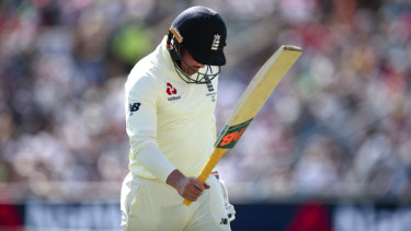 England's experiment with Jason Roy as a Test opener is over.