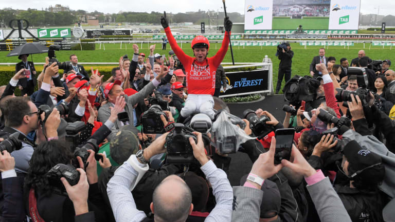 Red-letter day: The Everest has proved a success in its first two runnings.