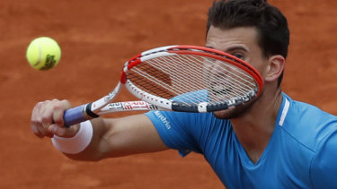Austria's Dominic Thiem was no match for the king of clay.