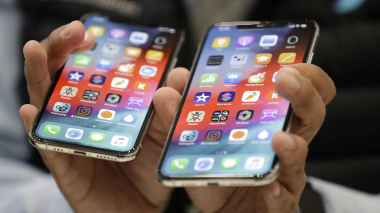 IPhone sales are falling.