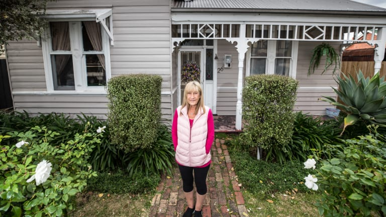 """""""My biggest concern is my house will sink,"""" says Yarraville resident Francesca Malorano."""