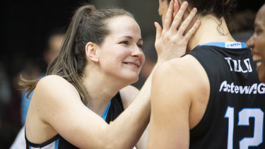 Canberra Capitals forward Keely Froling says the increase in minimum wage would have a three-fold effect.