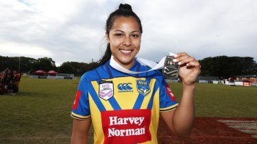City standout: Penitani bagged a hat-trick in the national championships grand final earlier this year.