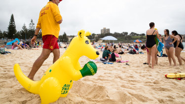 Plenty of Australians will flock to the beach on Saturday.