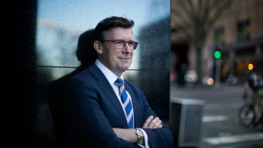 Population Minister Alan Tudge in Melbourne.