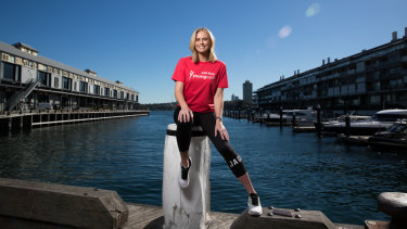 'You've just got to have a go': Sylvia Jeffreys is running to raise $50,000 for young Australians living with a disability.