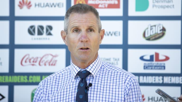 Canberra Raiders boss Don Furner.