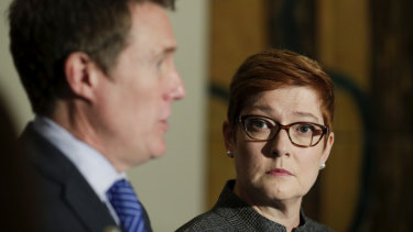 New Foreign Minister Marise Payne.