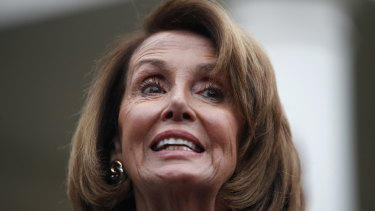 House Democratic leader Nancy Pelosi of California.