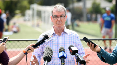 Labor leader Michael Daley opposes the rebuild of Allianz Stadium.