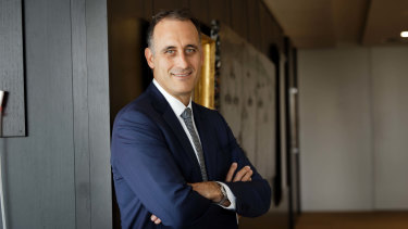 Wesfarmers boss Rob Scott is radically reshaping the company.