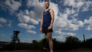 Liam Twomey, who will be running in the City2Surf.
