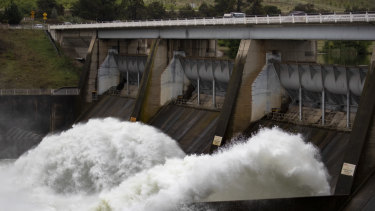 Scrivener Dam's floodgates will receive  a much-needed overhaul. Photo: Sitthixay Ditthavong