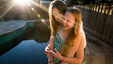 Antoinette Barbouttis and 11-year-old Scarlett Beaumont have written a play together, Cool Pool Party, which will be performed at the Bondi Feast festival.