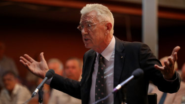 Ian Henschke said pensioners were being hit twice by the unadjusted deeming rate.
